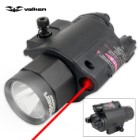 Valken 200-Lumen LED Flashlight / Laser Sight Combo