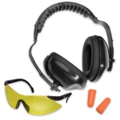 Shooters Combo Muffs-Glasses-Plugs Kit