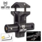 GVT Mini Red Laser Sight With Universal Barrel Mount Adapter (Fits most guns)