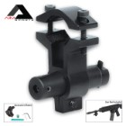 AIMS Mini Red Laser Sight With Universal Barrel Mount Adapter (Fits most guns)