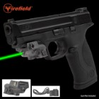Sightmark Subcompact Green Pistol Laser – Ultra-Compact, Lightweight Aluminum Construction, USB Rechargeable, Weaver Mount
