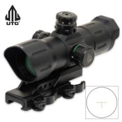 UTG 6-Inch ITA Red/Green CQB T-Dot Sight Offset QD