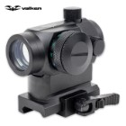 Valken V-Tactical 1x22 Red Dot R/G/B Tactical Scope with Low / High QR Mounts