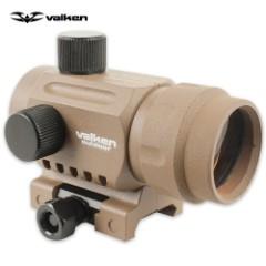Valken V-Tactical 20mm Reflex Mini Red Dot Sight - Tan