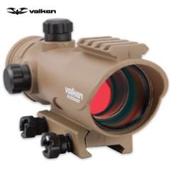 Valken V-Tactical 30mm Reflex Red Dot Sight - Tan