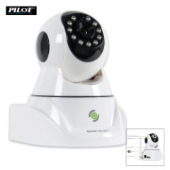 IP Home Camera With Rotatable Lens