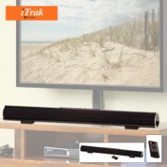Bluetooth Sound Bar With 2x5W Full Range Speakers