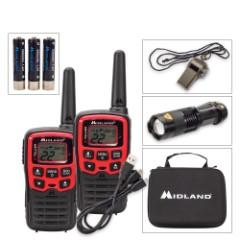 Midland USA E+Ready Emergency Two-Way Radio Kit
