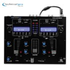 Table Top 2-Channel Dual USB-SD Card Mixer