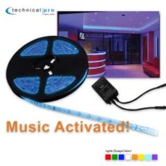 Professional LED Tape Lighting Kit – 16.4 Ft.