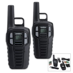 Uniden SX167 22-Channel FRS/GMRS Two-Way Radio Set - 2-Pack