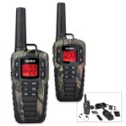Uniden 37-Mile Submersible Two-Way Radio – Camo