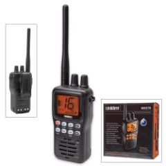 Uniden MHS75 Submersible Hand-Held Two-Way VHF Marine Radio