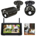 "Uniden Touchscreen HD Surveillance System – 7"" Monitor"