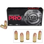 Freedom Munitions ProMatch .45 Automatic 230gr HP Ammunition - Box of 50