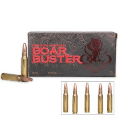Freedom Munitions Boar Buster .308 Winchester 168gr BSB - Box of 50