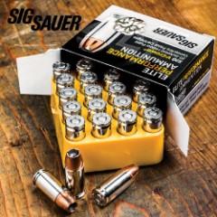 SIG Sauer Elite V-Crown 9 mm Luger 147gr JHP Ammo – Box of 20
