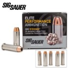 SIG Sauer Elite V-Crown .38 SPL 125gr JHP Ammo - Box of 20