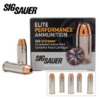 SIG Sauer Elite V-Crown .44 Mag 240gr JHP Ammo - Box of 20
