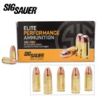 SIG Sauer Elite 9mm Luger 124gr FMJ Ammo - Box of 50