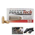 MaxxTech 9MM 115 Grain FMJ