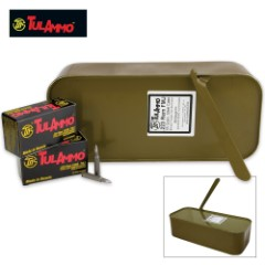 TulAmmo .223 REM 55 Grain Rifle Ammo Spam Can