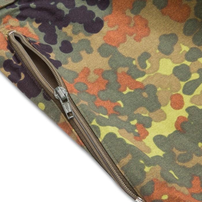 2679e0cf2ca47 German Military Surplus Wet Weather Pants - Flecktarn Camo - Gore-Tex -  Suspenders, Zip Gusseted Legs - Tough Lightweight Waterproof Breathable -  Used ...