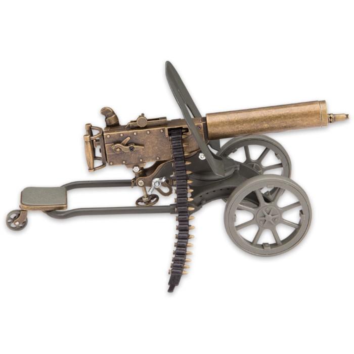 Maxim Gun Replica Desk Display | BUDK com - Knives & Swords At The