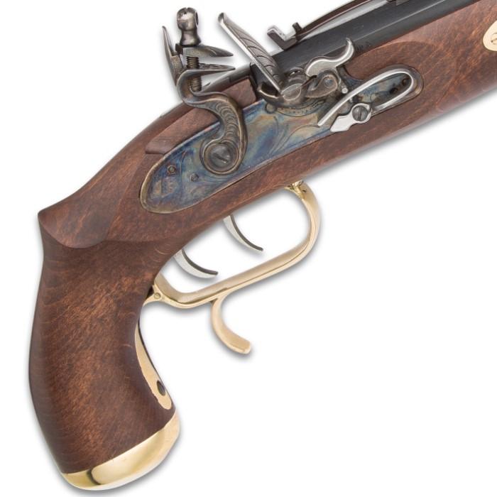 Trapper Classic Muzzleloading Flintlock Pistol - Blued Barrel