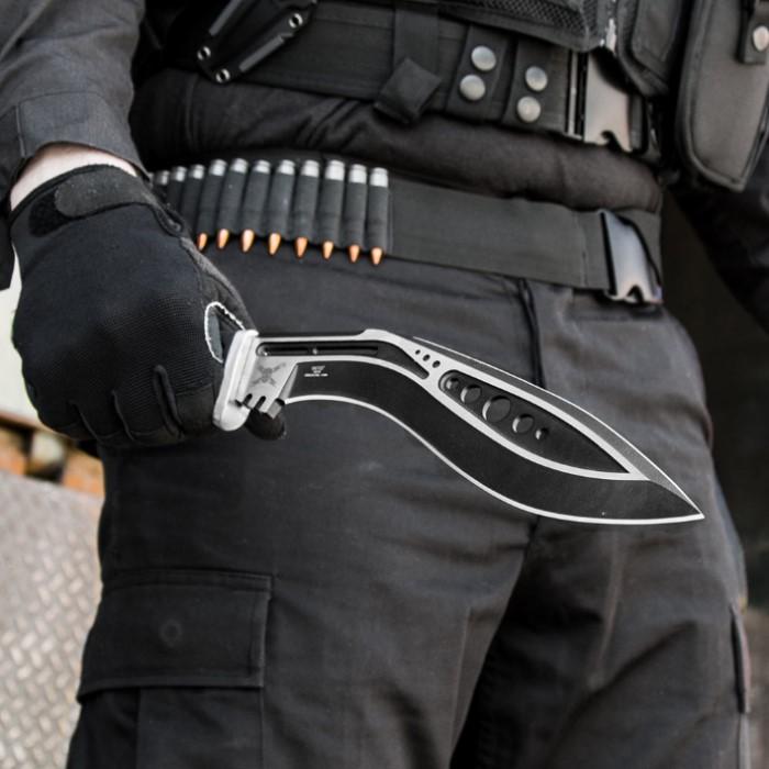 M48 Tactical Kukri With Sheath Budk Com Knives