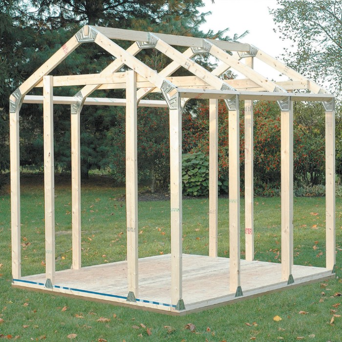 2x4 Basics Diy Shed Kit Peak Roof Style Chkadels Com