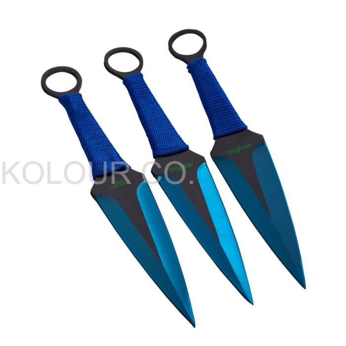 3PC Ninja Naruto Tactical Combat Hunting Kunai Throwing