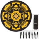 Skull Master Throwing Knife Set & Target