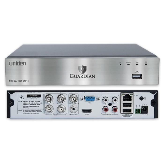 Uniden Guardian G6440d1 Wired Hd Video Surveillance System