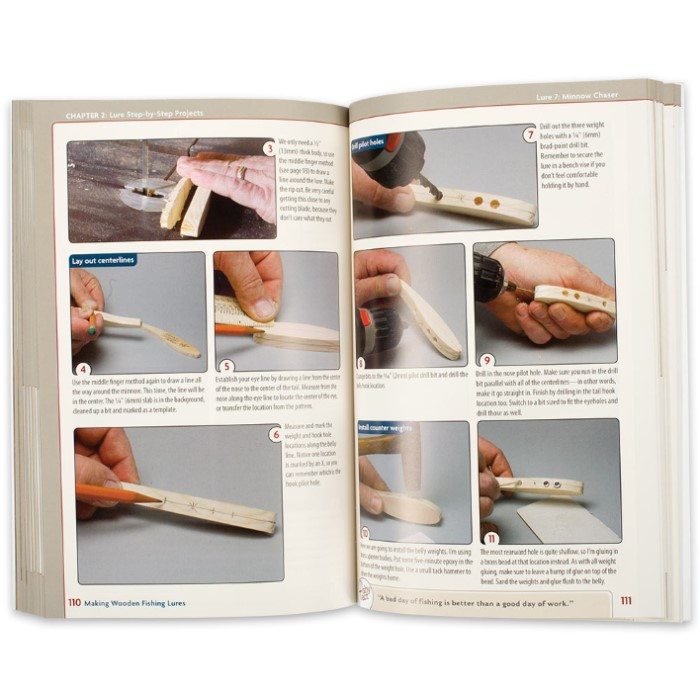 Making Wooden Fishing Lures Book | BUDK com - Knives