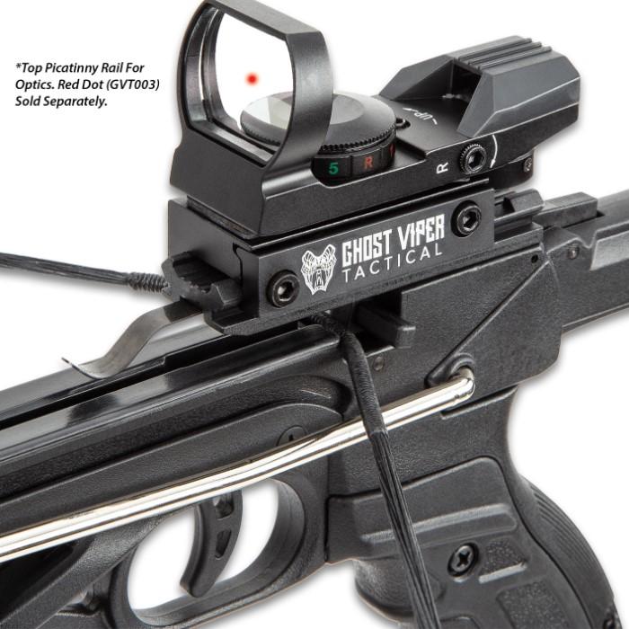 M48 Hell Hawk Self-Cocking Assault Crossbow Pistol