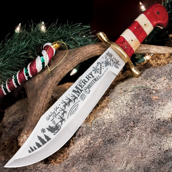 Timber Rattler 2015 Limited Edition Christmas Fixed Blade