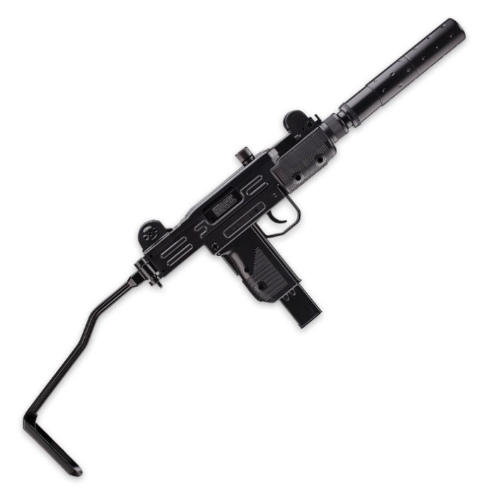 UZI Mini Carbine With Mock Silencer | BUDK.com - Knives ...