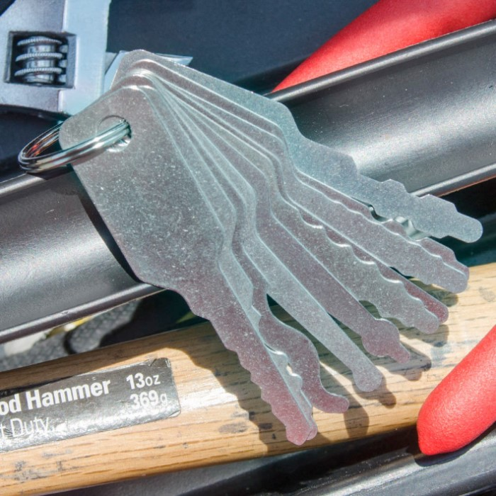 Master Key Locksmith Auto Jigglers Car Door Openers | BUDK.com ...