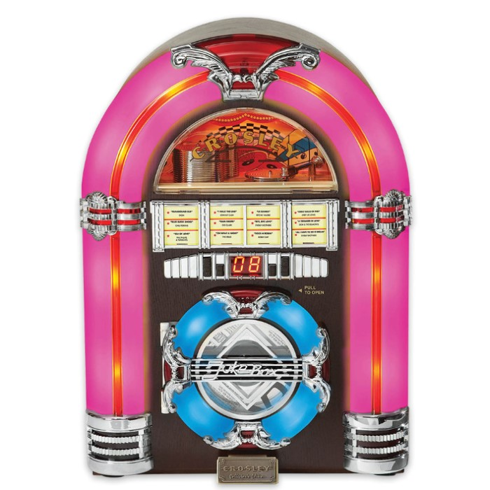 Crosley Jukebox And Cd Player Kennesaw Cutlery