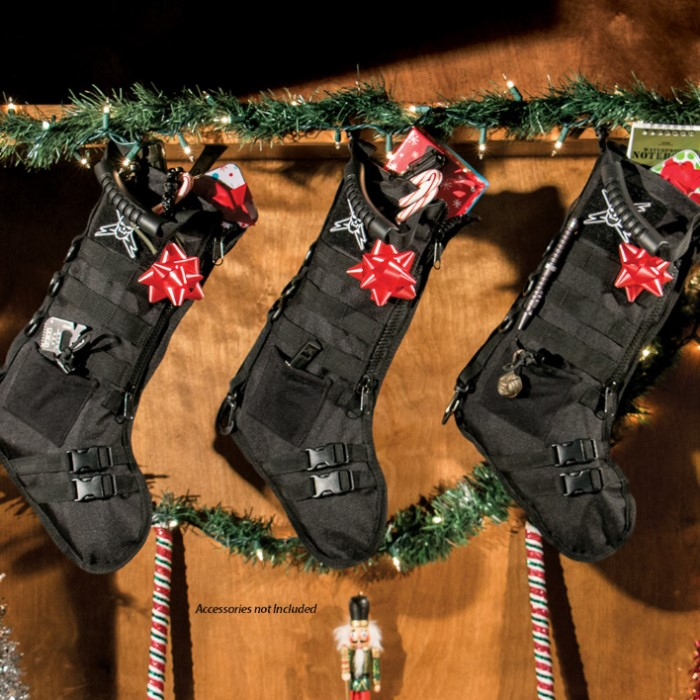 Tactical Christmas Stocking Stuffed.M48 Tactical Military Stocking Black Chkadels Com Survival