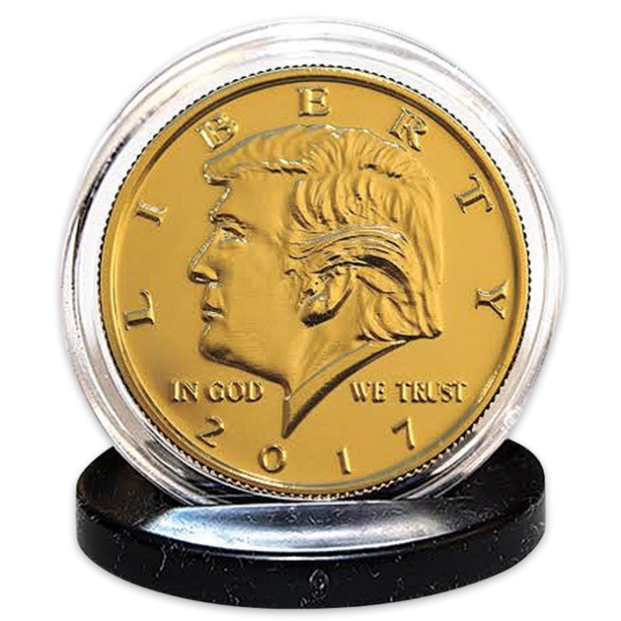 donald trump coin 2017