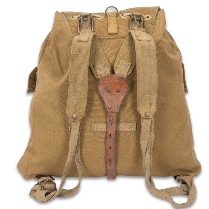 52aa870ad Tap to expand. Czech Army Small Rucksack - Genuine Military Surplus, 1970s  Cold War Era ...