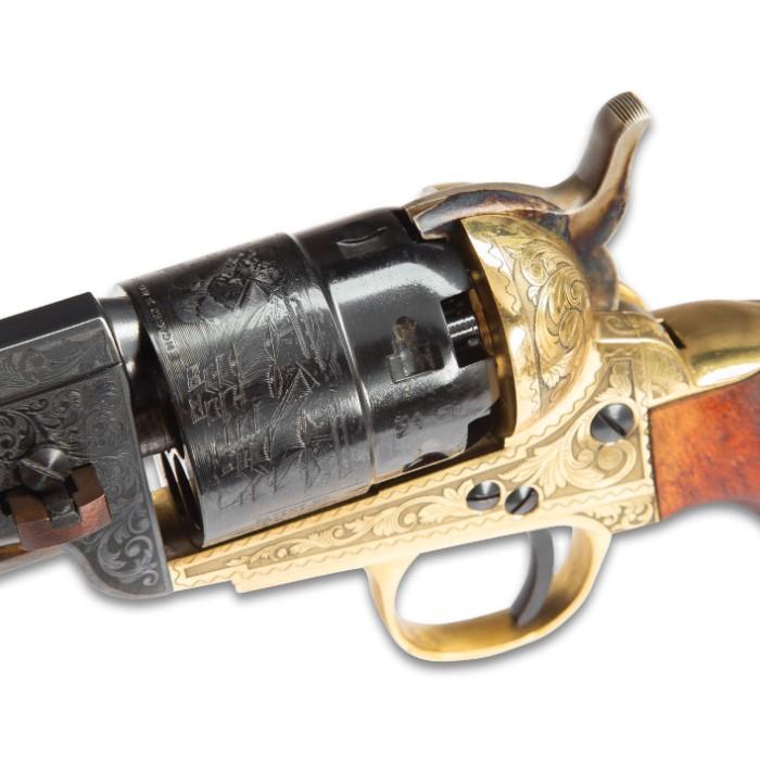 Traditions Colt 1851 Navy  44 Caliber Black Powder Revolver