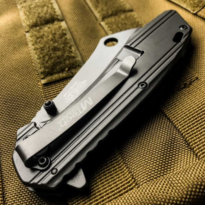 Mtech Cleaver: MTech USA Dusky Cleaver Ballistic Assisted Opening Pocket
