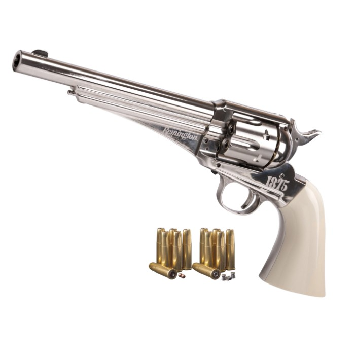 Remington 1875 CO2 Powered Replica Air Revolver - All-Metal