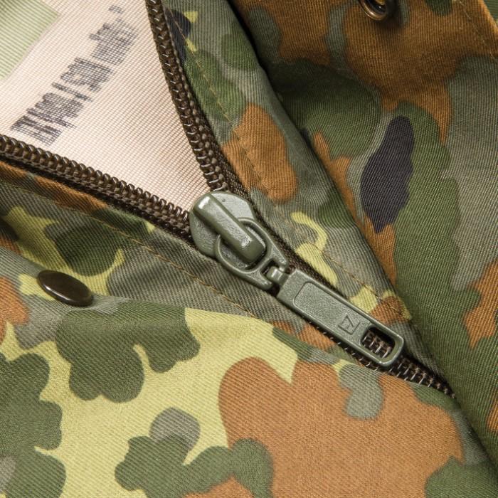 German Military Surplus Wet Weather Jacket - Flecktarn Camo - Gore