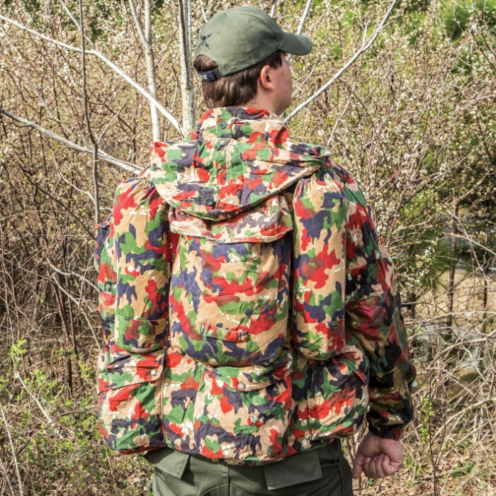 Swiss Army M70 Field Jacket Coat With Rucksack