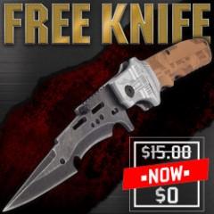 FREE Steampunk Pocket Knife