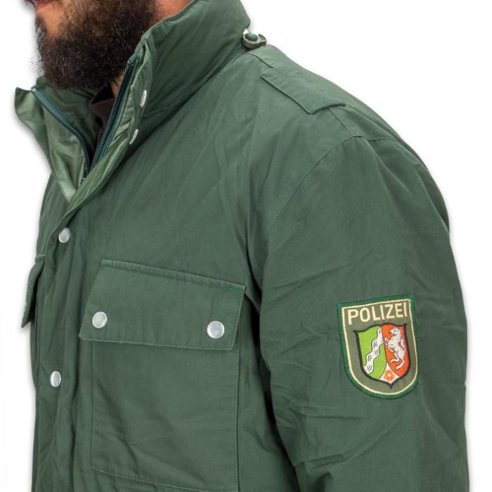 710359e18a247 German Polizei Border Patrol Parka - Used, Gor-Tex Material ...